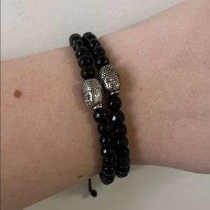 Pura Vida Buddha Bracelets x2